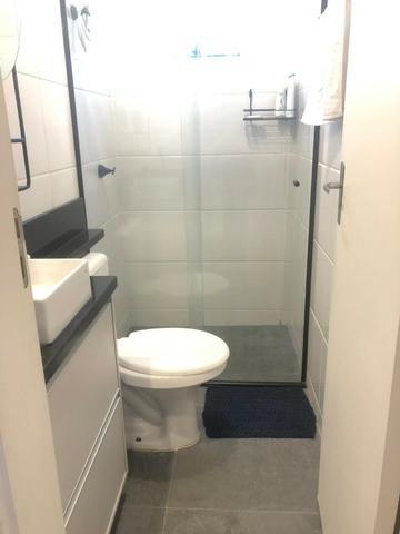 Apartamento Semi-mobiliado - Condomínio Clube Dallas - Campo Largo - Foto 5