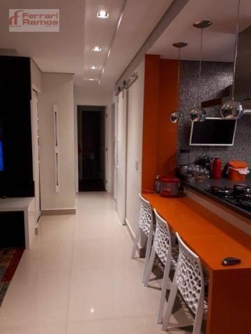 Apartamento com 3 dormitórios à venda, 92 m² por r$ 699.000 - vila augusta - guarulhos/sp - Foto 9