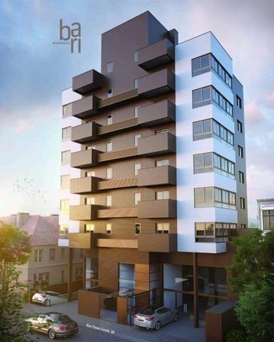 Vendo excelente apartamento em construção, a uma quadra do centro