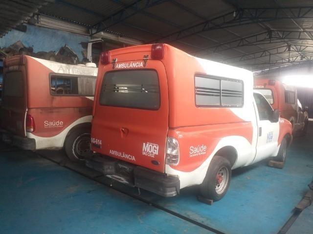 04 F250 4x2 Diesel - Sucata S/ Documento - Retirada De Peças - Foto 2
