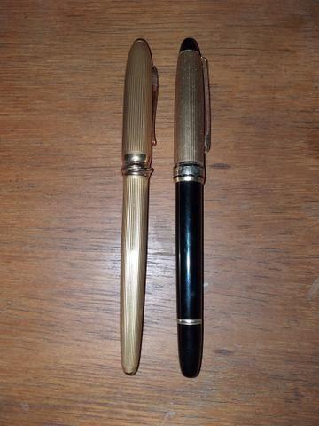 Duas Canetas Tinteiro Perfeito Estado de Uso - Foto 2
