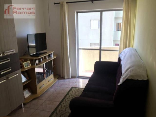 Apartamento com 1 dormitório à venda, 47 m² por r$ 230.000 - macedo - guarulhos/sp - Foto 8