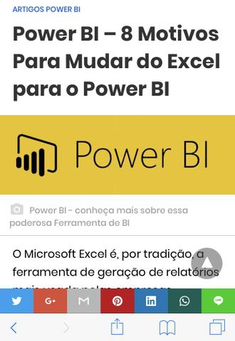 Curso de Power BI e Excel