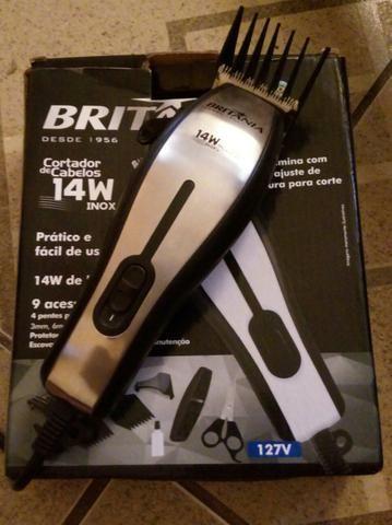 18ed9d502 Maquina de de corta cabelo Britânia - Equipamentos e mobiliário ...