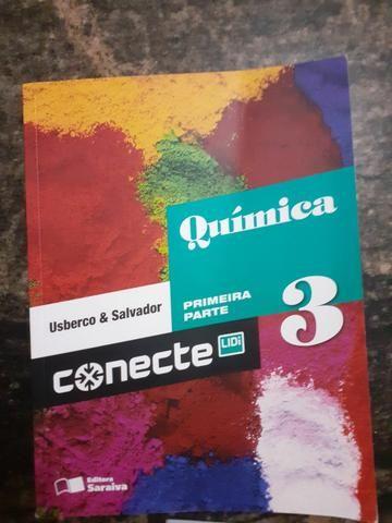 Pacote 4 Livros De Química Conecte - Saraiva - Foto 2