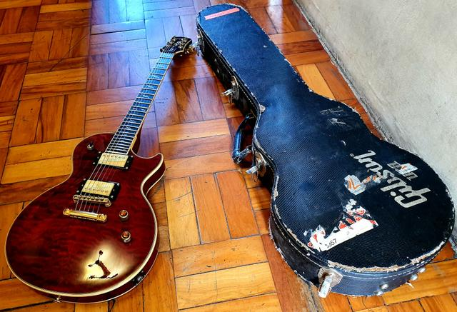 Epiphone Gibson Les Paul prophecy custom shop Limited Edition - Foto 6