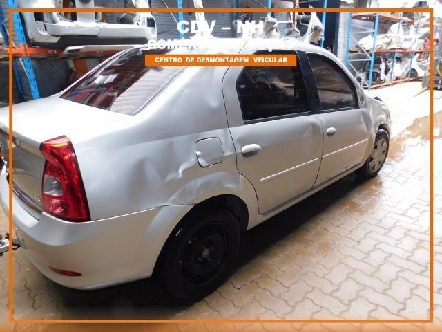 Sucata Renault Logan 1.6 106cv Flex 2013 (Somente Peças) - Foto 12