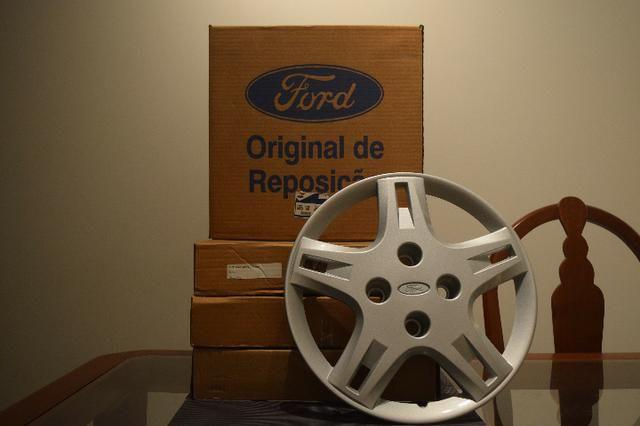 Calotas aro 14 originais Ford Ka Action 1.6 - Foto 2