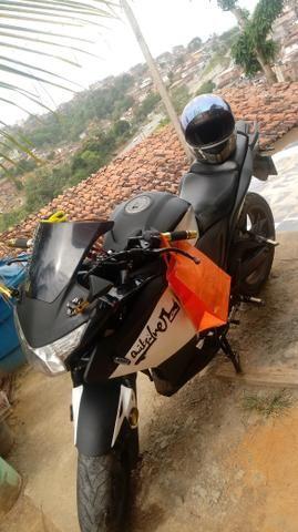 Vendo moto NAZAXX ou troco em carros q esta bem conservado - Foto 3