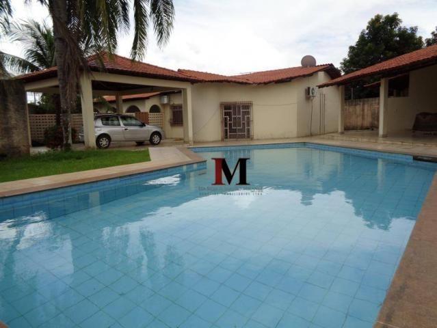 Alugamos casa com 4 quartos com piscina proximo ao shopping