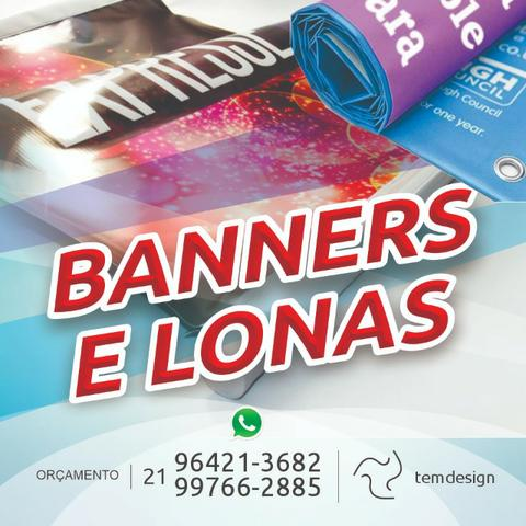 Lona, Banner e Windbanner