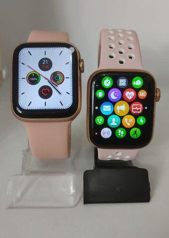 Smartwatch iwo 12 lite pro (Rosa) Tela Infinita - Foto 3