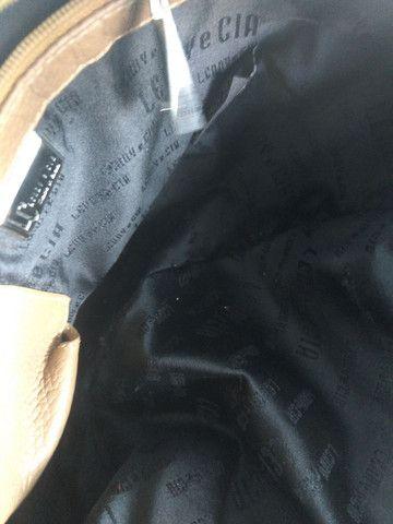 Bolsa couro legítimo LENNY e CIA, matelasse - Foto 2