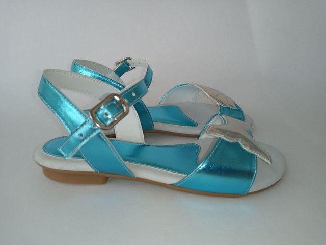 Kit 2 pares de sandálias infantis menina - Foto 3