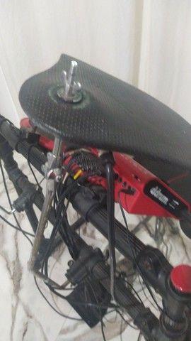 Bateria eletrônica usada ddrum - Foto 2