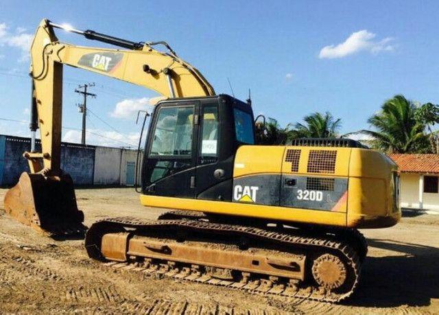 Escavadeira cat320D 2010 R$180.00 - Foto 2