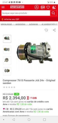 """Compressor de ar condicionado nunca usado.""""NOVO"""""""