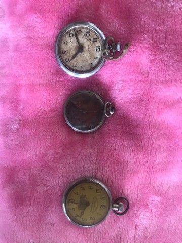 Relógio antigo de bolso colecionadores. - Foto 2