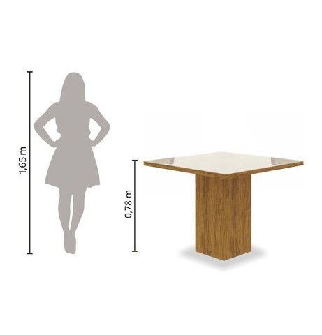 Mesa quadrada  - Foto 2