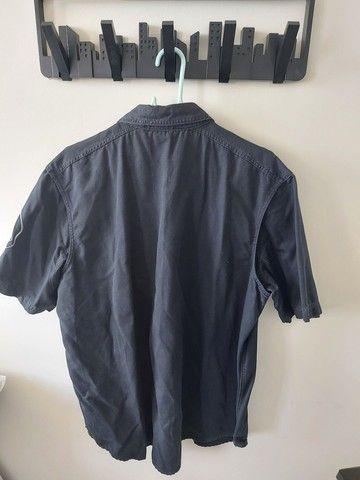 Camisa harley davidson semi-nova tam G - Foto 2