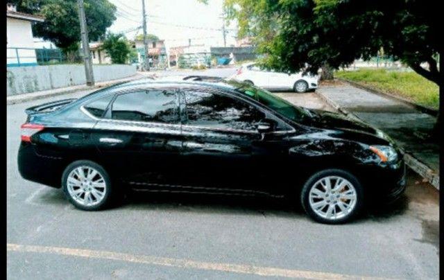 Nissan Sentra SL 2.0 Flex Full GNV Automático Impecável  - Foto 4