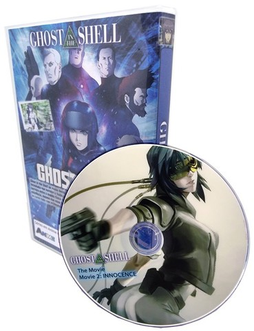 Box Dvd Anime Ghost In The Shell Completo + Movies + Extras - Foto 2