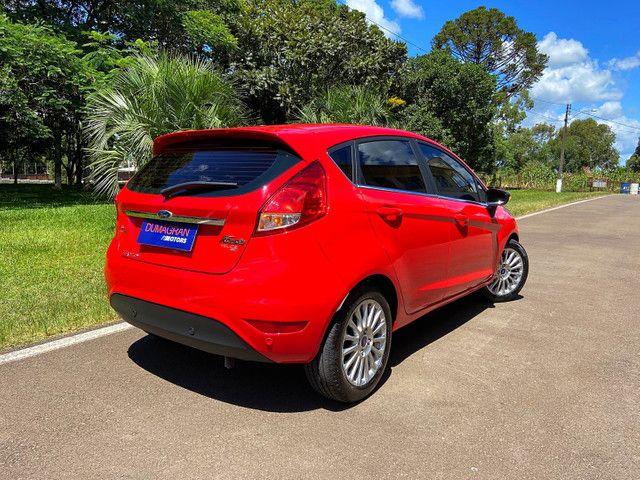 New Fiesta Titanium Baixa Km Placa I Zero - Onix Hb20 Focus Golf Polo - Foto 2