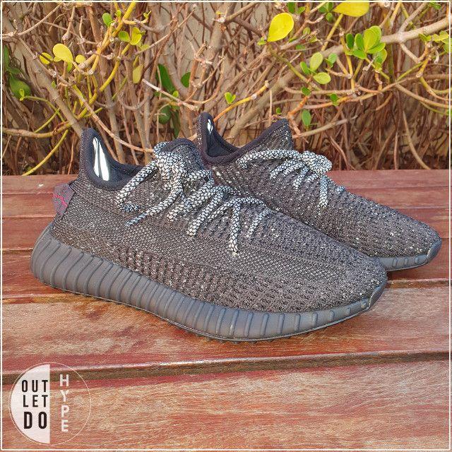 Adidas Yeezy Boost 350 V2 Black-Reflective - Foto 2