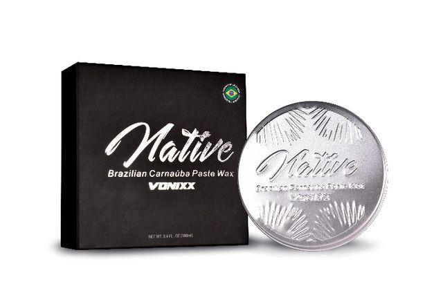Native Paste Wax Vonixx - Cera De Carnaúba Premium 100 ml