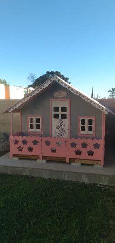 Casinhas de bonecas e balanços infantis - Foto 2