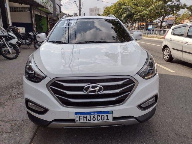 HYUNDAI IX35 GLS 2017 COMPLETO AUTOMÁTICO + COURO  - Foto 2
