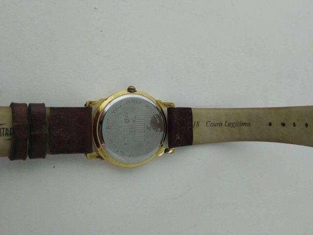 Relógio Dumont feminino dourado  - Foto 2