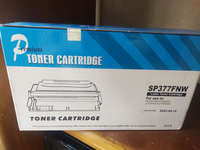 Toner Ricoh SP377
