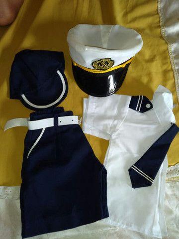Roupinha Marinheiro  Tamanho 1 - Foto 4