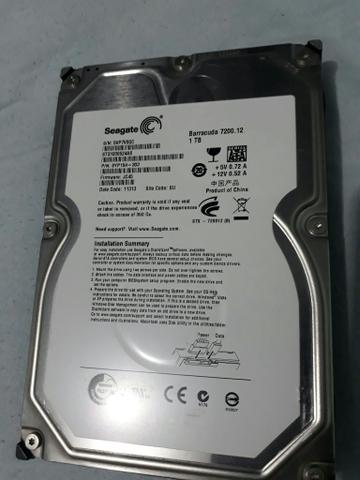 Hd interno 1 tera seagate barracuda