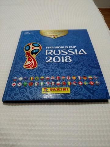 Álbum da Copa 2018 - *Capa Dura* - Completo