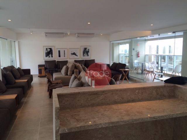 Flat com 1 dormitório para alugar, 44 m² por r$ 1.800,00/mês - bosque das juritis - ribeir - Foto 10