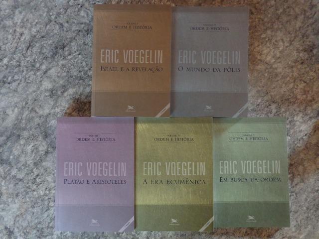Coleção Ordem e História, edições Loyola - Eric Voegelin