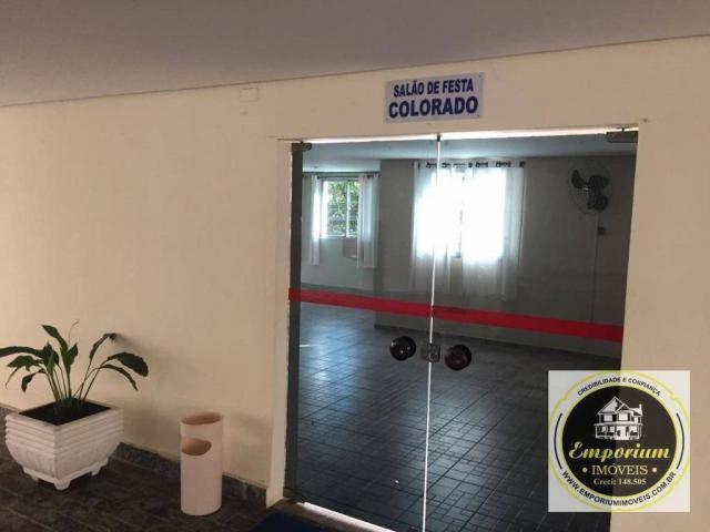 Apartamento com 2 dormitórios à venda, 67 m² por r$ 245.000 - vila galvão - guarulhos/sp - Foto 11