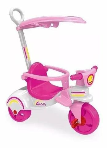 Triciclo Infantil Multi Care Girl 3x1 Xalingo