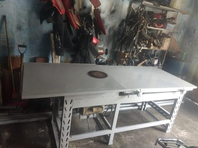 Mesa para cortar madeira (PREÇO A NEGOCIAR) - Foto 5