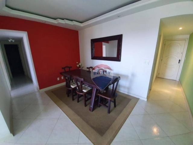 Apartamento com 3 dormitórios à venda, 130 m² por r$ 800.000 - jardim guanabara - rio de j