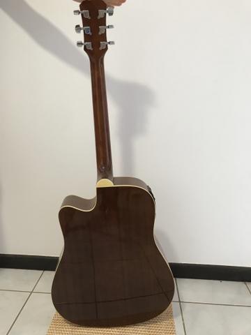Violão Tagima Kansas Folk elétrico (Somente venda) - Foto 2