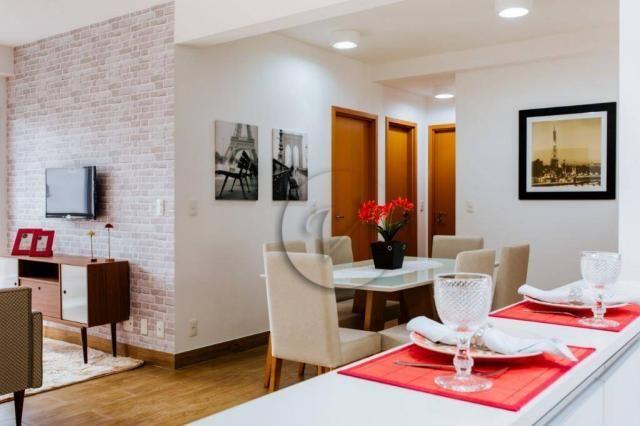 Apartamento com 3 dormitórios para alugar, 90 m² por r$ 2.800/mês - jardim bela vista - sa - Foto 3