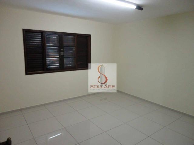 Sobrado para alugar, 338 m² por r$ 6.000,00/mês - jardim apolo - são josé dos campos/sp - Foto 13