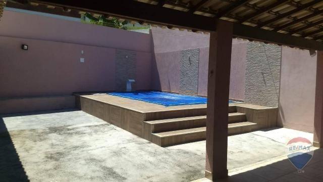 Linda casa com piscina para locação dentro de condomínio - Foto 18
