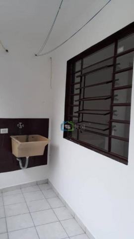 Casa com 2 dormitórios para alugar, 70 m² por r$ 1.100,00/mês - parque maria helena - são  - Foto 6