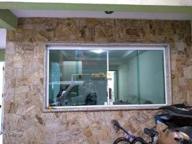 Sobrado com 3 dormitórios para alugar, 130 m² por r$ 1.700,00/mês - parque continental i - - Foto 2