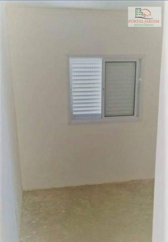 Apartamento com 2 dormitórios à venda, 75 m² por r$ 350.000 - vila camilópolis - santo and - Foto 4