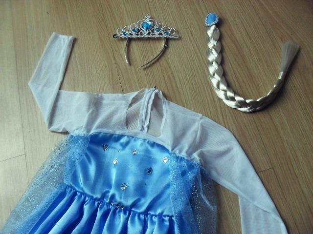 Fantasia Frozen 3/4 anos (NOVA) - Foto 2